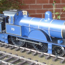 Midland LMS BR Johnson Class 3 in Somerset & Dorset livery Gauge 1